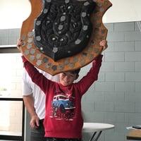 Liam Roberts Murrays Bay winner of the 2021 Wihau Shield